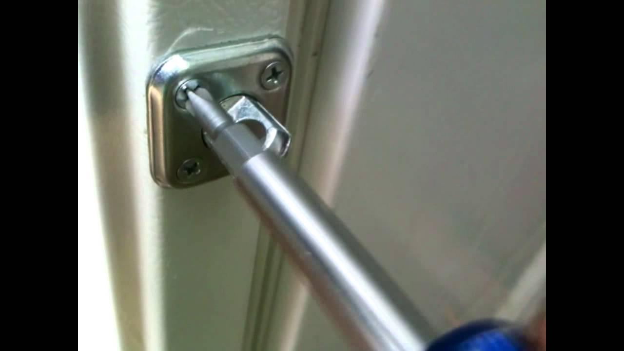 Diy Fridge Door Lock W Bonus Alarm System Youtube