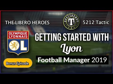Lyon The Libero Heroes. The 5212 system for Football Manager 2019