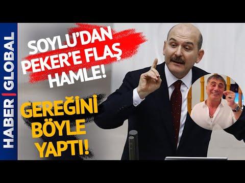 Süleyman Soylu Sedat Peker'in Sözlerine Bu Şekilde Yanıt Verdi!