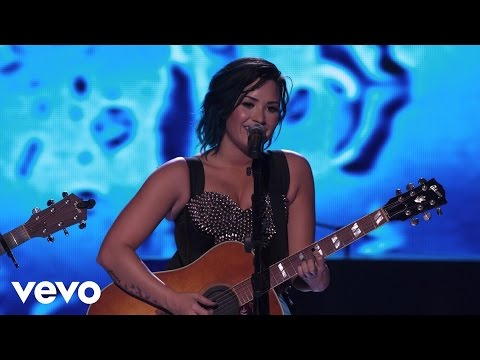 Demi Lovato - Don't Forget / Catch Me (Acoustic Medley) (Vevo Certified SuperFanFest)