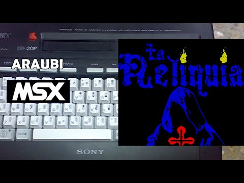 La Reliquia (Roolandoo, 2020) MSX [792] Walkthrough