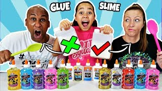 TIANA PICKS OUR SLIME INGREDIENTS CHALLENGE!!