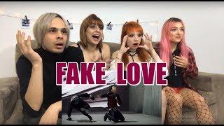 BTS (방탄소년단) 'FAKE LOVE' MV REACTION   Young4ever!