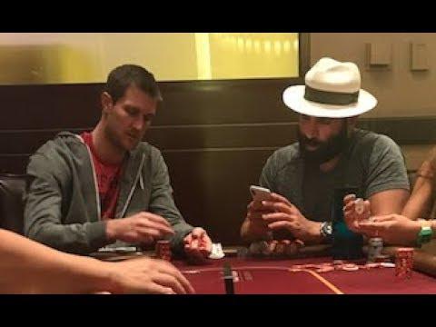 Dan Bilzerian nel vlog Brad Owen gioca (e perde) al cash game