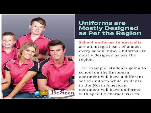 Looking At The Benefits Of School Uniforms