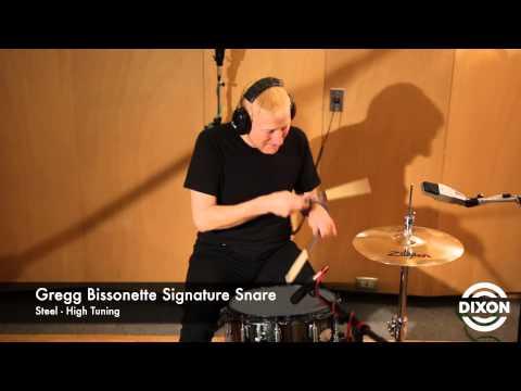 Dixon 14x6.5 Snare Drum Greg Bissonette Signature Model