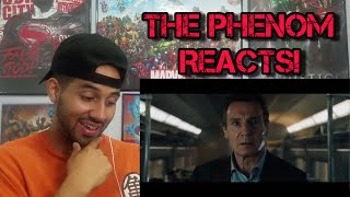 The Commuter Teaser Trailer #1 REACTION!!!!