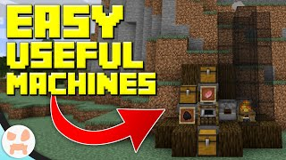 5 Easy Must Have Redstone Machines!