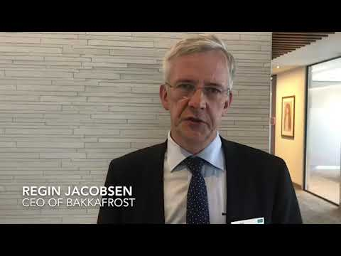 Regin Jacobsen, CEO of Bakkafrost