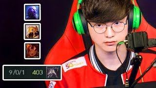 Everything FAKER did at Spring 2018 (HE'S ANGRY 😡)   #LeagueOfLegends