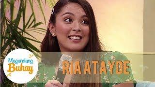 Ria shares that she loves intensely like Arci   Magandang Buhay