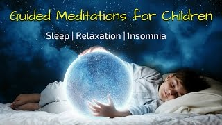 Guided Meditations for Kids to Sleep | Sleep Meditation for Children (5 in 1) | Bedtime Relaxation