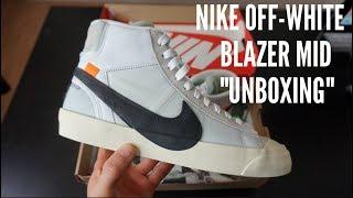 OFF-WHITE NIKE BLAZER MID UNBOXING Videos - mp3toke 9b696daf5