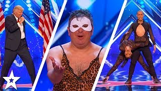 America's Got Talent 2017 Week 1 Auditions | Puddles Pity Party, Visualist & More!!