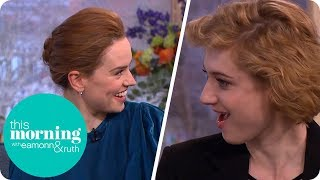 Peter Rabbit Stars Daisy Ridley & Elizabeth Debicki Discover a Family Film Connection | This Morning
