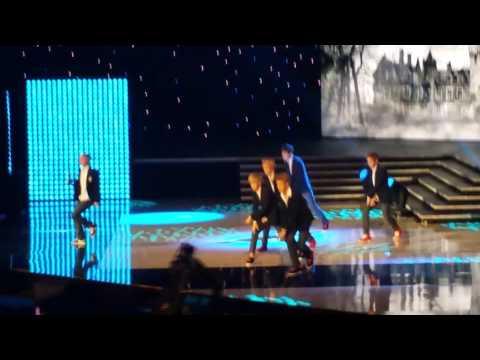 KCON 2013 EXO Wolf - Kai Surprises Me From Behind