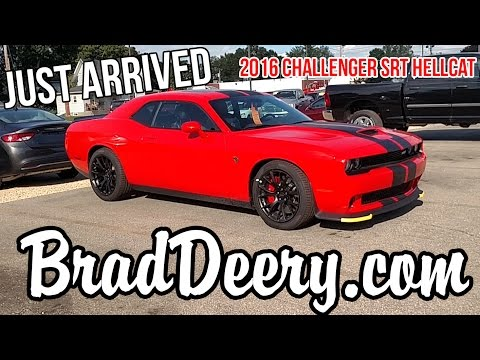 First look at our new 2016 Challenger Hellcat at Brad Deery Motors