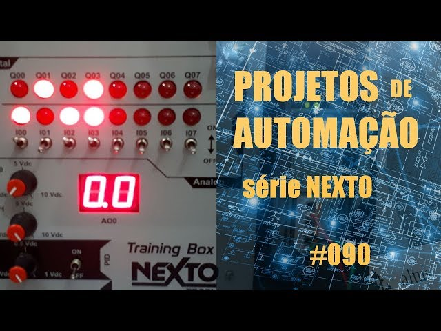 MULTIPLEXADOR COM CLP NEXTO | Projetos de Automação #090