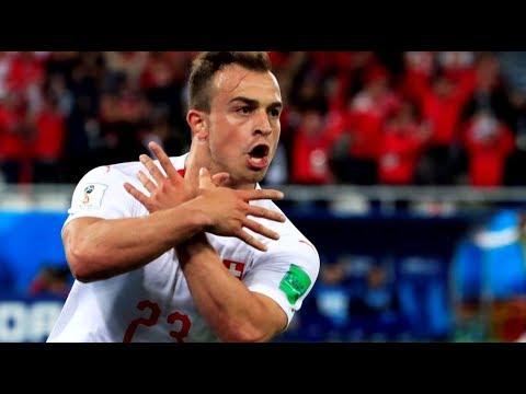 «Албанскому орлу» не место на поле: ФИФА ведёт расследование в отношении игроков сборной Швейцарии