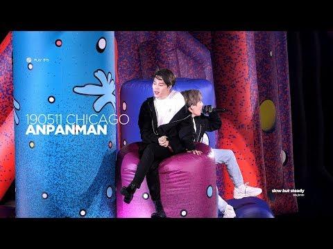 190511 방탄소년단 지민 (BTS JIMIN) - ANPANMAN (JIMIN FOCUS 4K fancam)