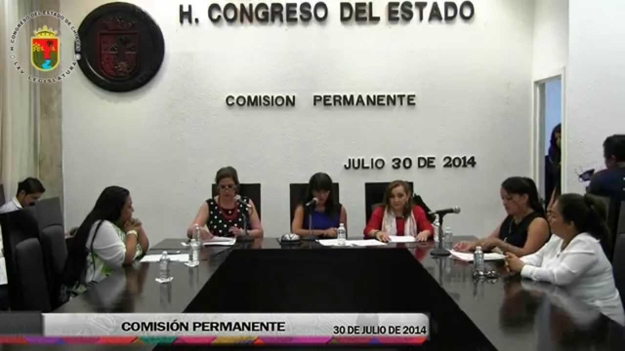 Comision Permanente 30 de Julio del 2014