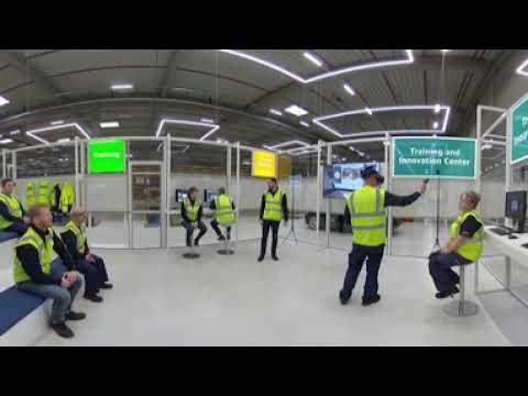 DB Schenker - Experience logistics in 360° virtual tour