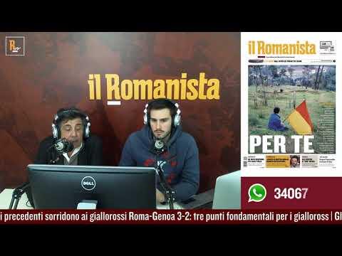VIDEO - Piero Torri commenta Roma-Genoa 3-2: