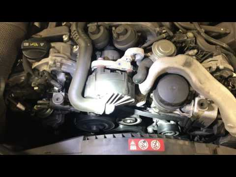 Mercedes Benz Idler Pulley and Belt Tensioner Replacement