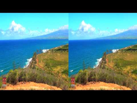 3D Video Hawaii Nature Scene - 3D Video Everyday N°53