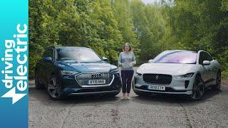 Jaguar I-Pace EV400 vs Audi e-tron 55 quattro - DrivingElectric