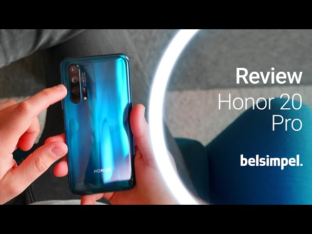 Belsimpel-productvideo voor de Honor 20 Pro Blue
