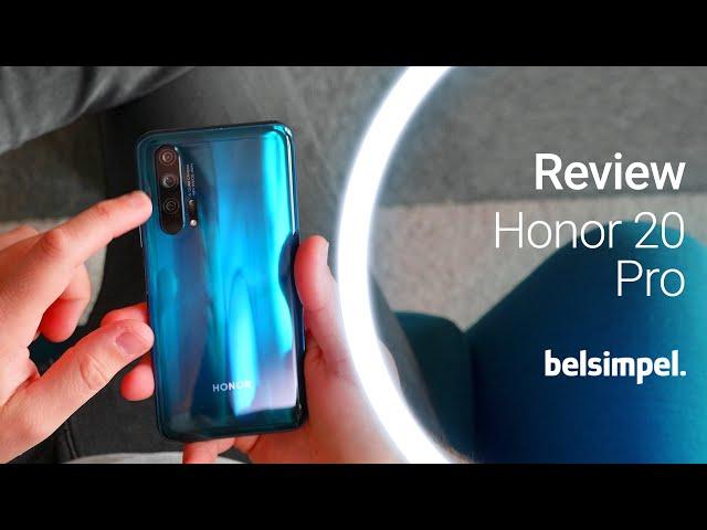 Belsimpel-productvideo voor de Honor 20 Pro Black