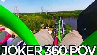 The Joker POV 360 Cam - 4d Free-Fly Coaster