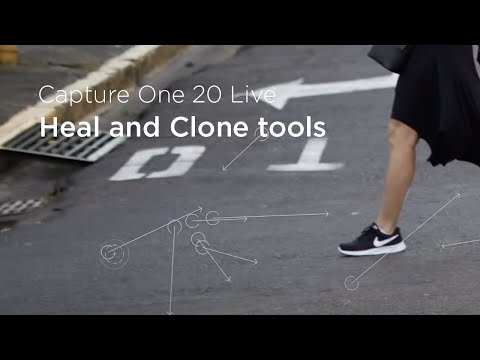 Capture One 20 | Live : Heal and Clone tools in Capture One 20