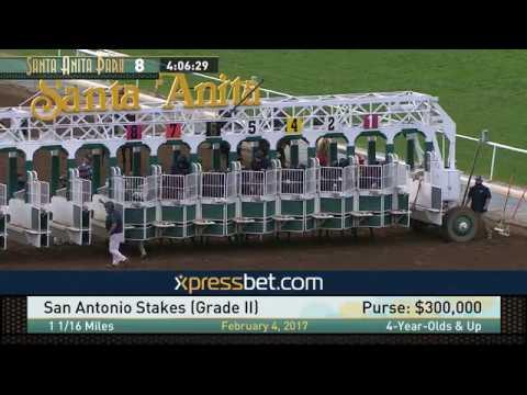 San Antonio Stakes (Gr. II) - February 4, 2017