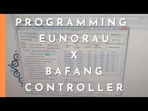 How to programming Eunorau and Bafang controller