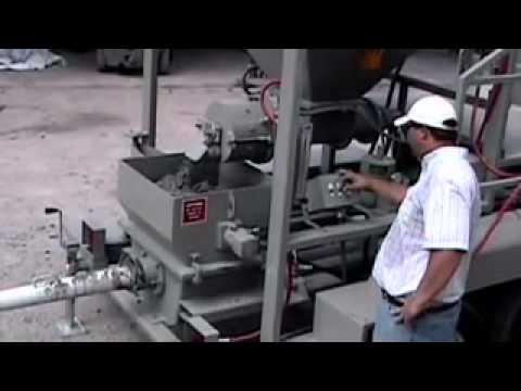 Blastcrete MX-20CM - Continuous Mixer-Pump for Refractories