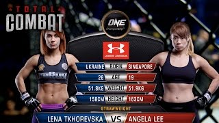 Total Combat | Lena Tkhorevska vs Angela Lee