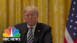 President Trump Says He Feels 'Terribly' For Brett Kavanaugh, Doesn't Mention Accuser   NBC News