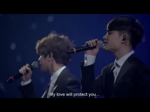 Exo- Baby don't cry LIVE [ENG SUB]