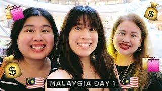 MAJOR SHOPPING + MY NEW CAMERA! | Malaysia Day 1 | Karla Aguas