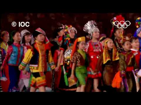 Incredible Highlights - Beijing 2008 Olympics   Opening Ceremony