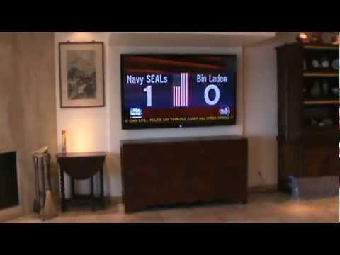 70 Inch Lcd Flat Screen Tv Installation Youtube