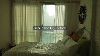 8 Hour BTS Piano Music for Studying | Relaxing Playlist