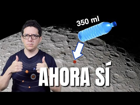 La NASA confirma AGUA en la LUNA