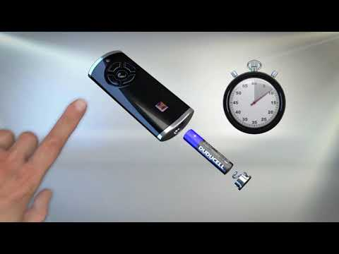 Hörmann installationsguide: Ställa om handsändare från BiSecur till 868 rak kod