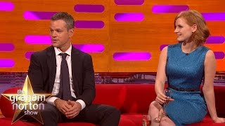 Matt Damon's Man Bun Gives Twitter a Lady Boner - The Graham Norton Show
