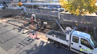 La construction d�une station GNV en vid�o