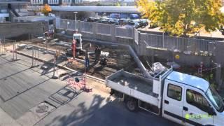 La construction d'une station GNV en vidéo