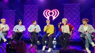 200127 BTS iHeartRadio Live Part 1 (Grammys + Make It Right) 2020 LA Interview Fancam KIISFM ?????